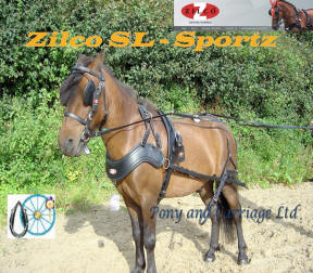 Zilco SL Sportz Small Pony Harness