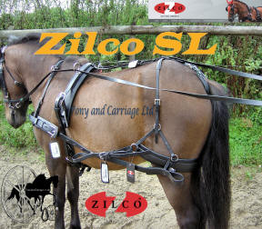 Zilco Sl Single Small Pony Harness