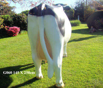 Life Size Friesian cow Model