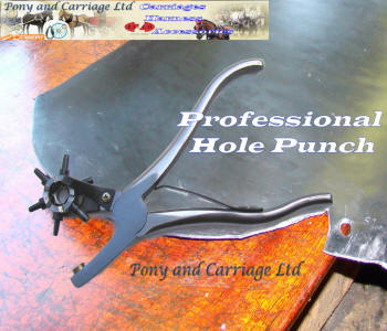 Professional Heavy Duty Cast Leather Hole Punch