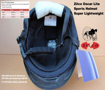 Carriage Driving Helmet Zilco Oscar Lite 3
