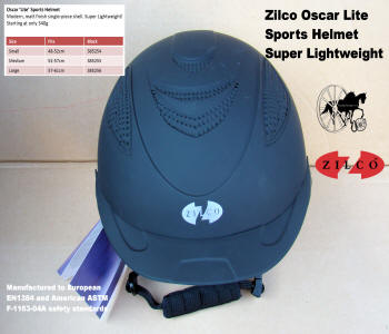 Carriage Driving Helmet Zilco Oscar Lite 4