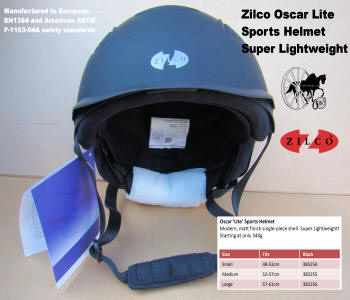 Carriage Driving Helmet Zilco Oscar Lite 6