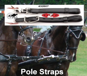 carriage Driving Team Pairs Pole Straps