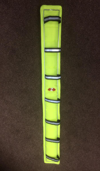 Carriage Driving Bright Hi Vis Breast Collar Pads